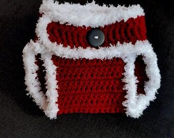 Baby Santa Diaper Cover