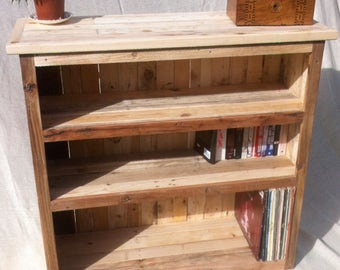 Handmade Reclaimed Wood Bookcase