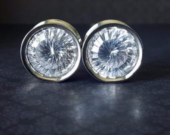 "Large Gem Double Flared Plugs (2G and 3/4"" Available)"