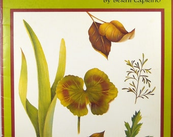 """Leaf It...And Love It """"How to"""" Book on Leaf Painting"""