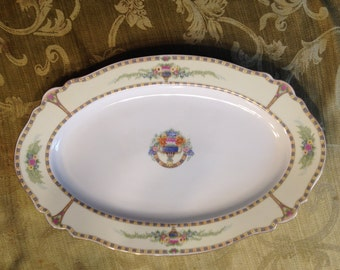 Vintage Paul Muller Selb Bavaria Platter Circa 1912-1917 Pattern # 29