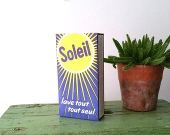 Old packaging detergent 'Soleil'