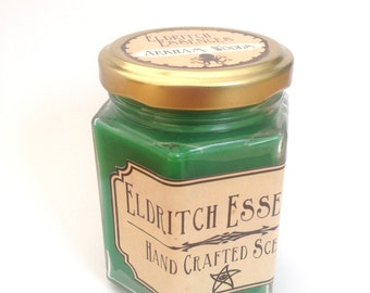 Eldritch Essences Hex Jar Candle *Arkham Woods*