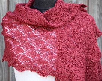 """Ida"", cloth, scarf, lace cloth stoles"