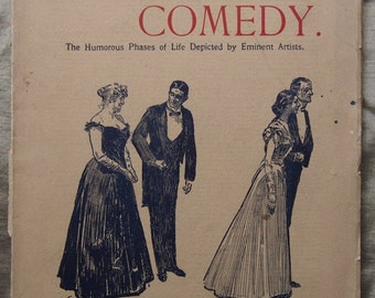 Pictorial Comedy Magazine 1899 - Vol 1 issue 3 Published in London