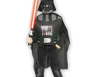 Complete kit official Dark Vader™ Star Wars™ child size 5-7 years