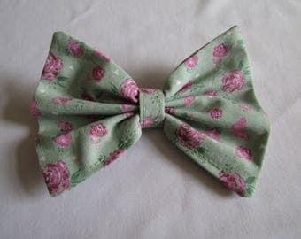 Cute floral hair bow