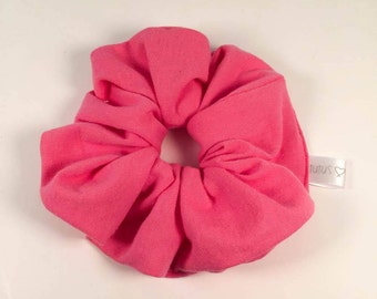 CLEARANCE-elastic '' hair band - Pink