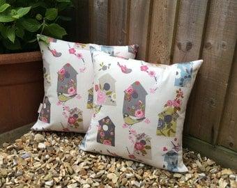Bird house cushions