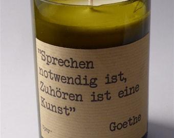 CANDLE SOY WAX Goethe