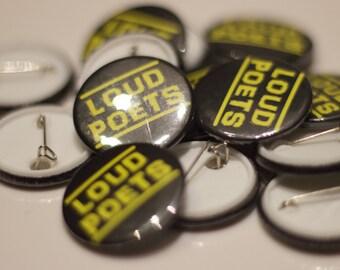 Loud Poets Badge