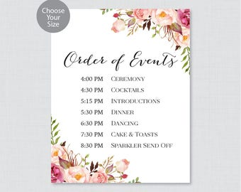 wedding order - Hatch.urbanskript.co