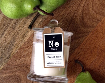 French Pear Natural Soy Wax Candle