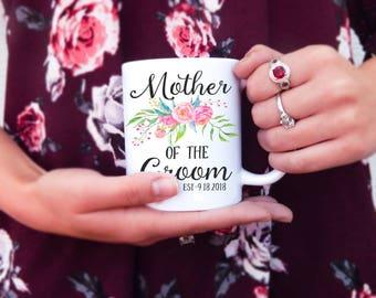 Mother of the Groom Mug | Mother in Law Mug, Wedding Gift, Thank You Gift, Mother in Law Gift, Mother of the Bride, Mother Mug, Mom Mug