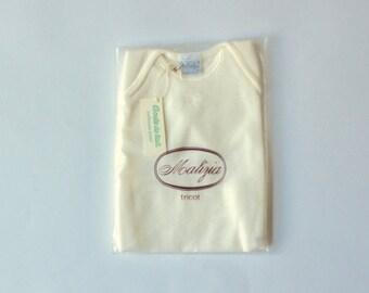 Underwear t-shirt-FineWool Vest-pure wool by Malice La Perla