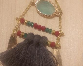 earring pompons
