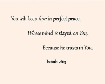Biblical inspirational verses