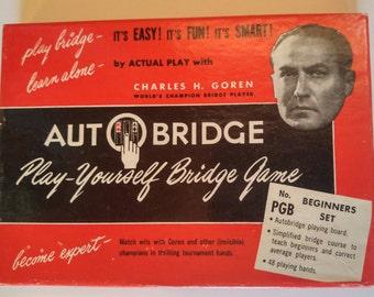 Autobridge Play Yourself Bridge Game