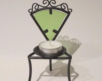 Garden Chair Tea Lite Holder