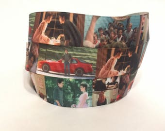 "1/3/5 Yards - 1"" Sixteen Candles Molly Ringwald Grossgrain Ribbon"