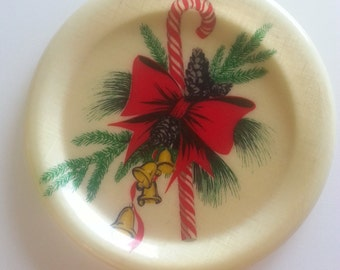 Vintage Christmas Serving Tray