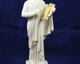 Apollo sculpture statue ancient Greek God of sun and poetry