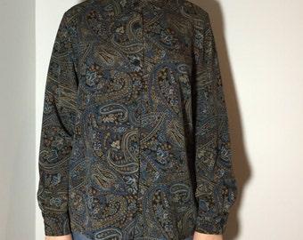 Eccentric Printed Women Shirt - Vintage clothing