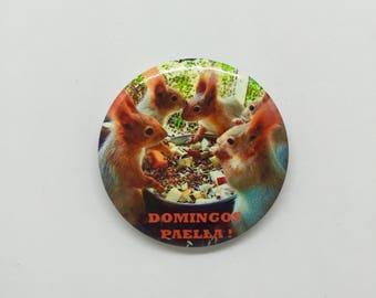 Domingos Paella ! Badge 44mm