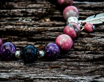 DISPEL ANXIETY | Aromatherapy Gemstone Diffuser Bracelet