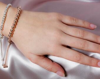 Stunning Silver Friendship Bracelet