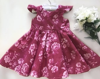 Rose Tea Party Dress