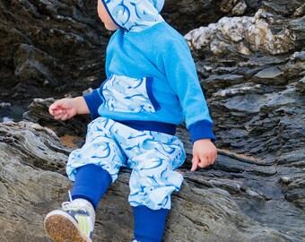 child blue Hoodie