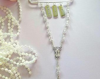 InstaPray Rosary Pin