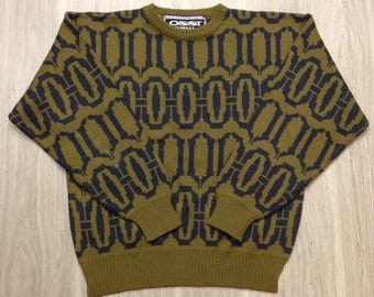 Ossi Skiwear Vintage Sweater - Unisex/Men's Large