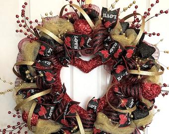 Chic Valentine's Day Wreath