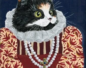 Suzette, Custom Pet Portrait 24x18cm