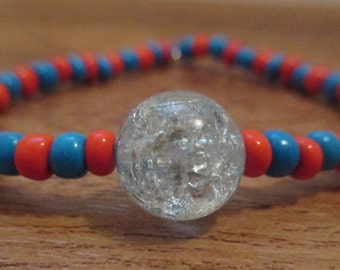 Fortune Teller Beaded Stretch Bracelet