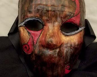 Red/Brown Full Mask