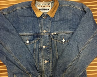 Vintage GUESS GEORGES MARCIANO Jacket size L