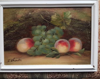 Original Oil Still Life Painting, Evelyn Chester