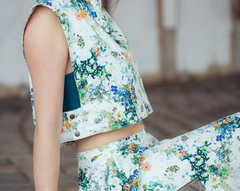 Crop-top 'Little Meadow'