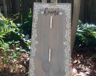 Home Sign Picture Holder