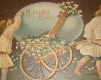 Vintage Easter Postcard (Children)