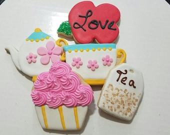 Tea party gluten free cookies, 1 doz.