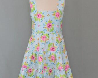 Girls summer dress,Girl's dress,Tiered dress,Twirly summer dress,Little girl dress,Ruffled dress