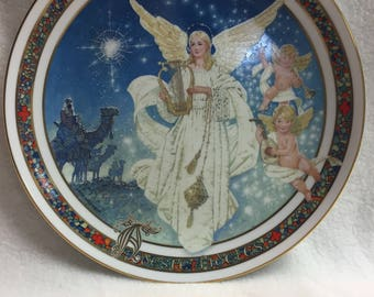 Royal Windsor - Adeste Fideles - Angel Collector Plate (#010)