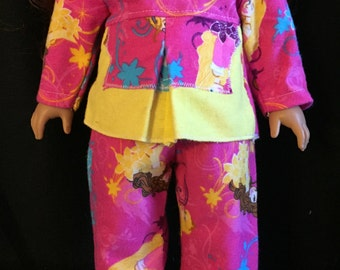 american girl doll with pjs