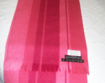 Thalhimers Ladies Scarf 6 ft. Virgin Wool