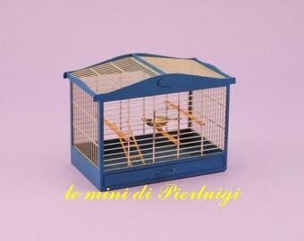 birdcage - dollhouse 1:12th scale - dollshouse miniature