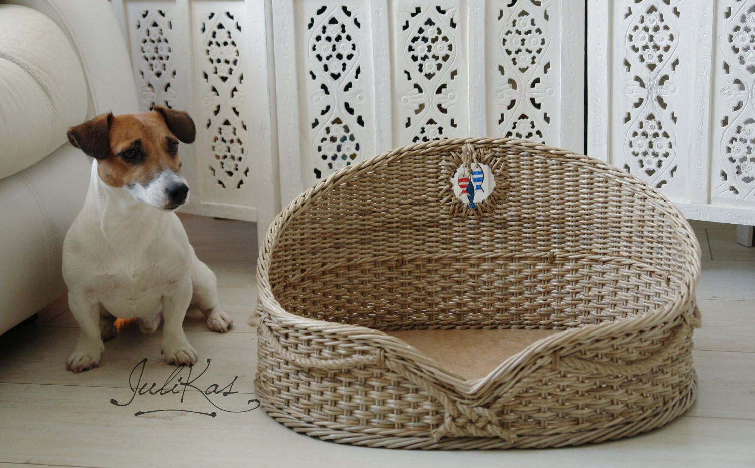 Dog crib for sale philippines - Basket For Pets Seaman S Hut Pet Bed Unique Pet Bed Wicker Dog Bed Wicker Pet House Jack Russell Gifts Sailor Dog Pet Basket